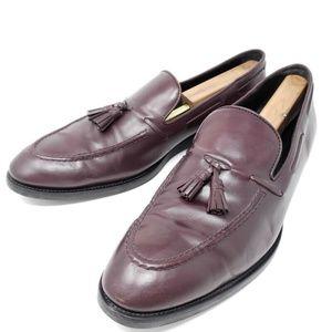 Tod's Tassel Loafers 12 M Mahogany Apron Toe